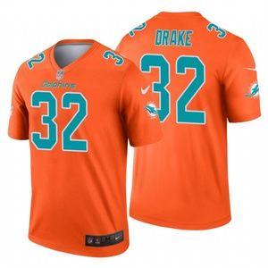 Men's Kenyan Drake Miami Dolphins football Jersey